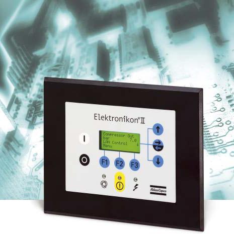 کنترل دیجیتال کمپرسور اسکرو تیپ دو اطلس کوپکو , GA22/75 _PLC Elektronikon II